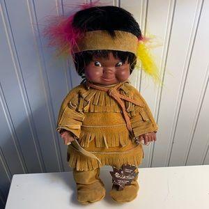 Vintage Indigenous Canada Doll